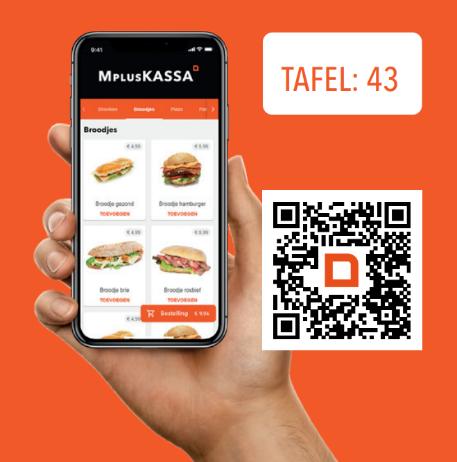 MplusKASSA Order - QR bestel app