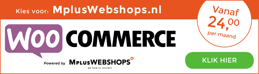 WooCommerce by MplusWebshops.nl